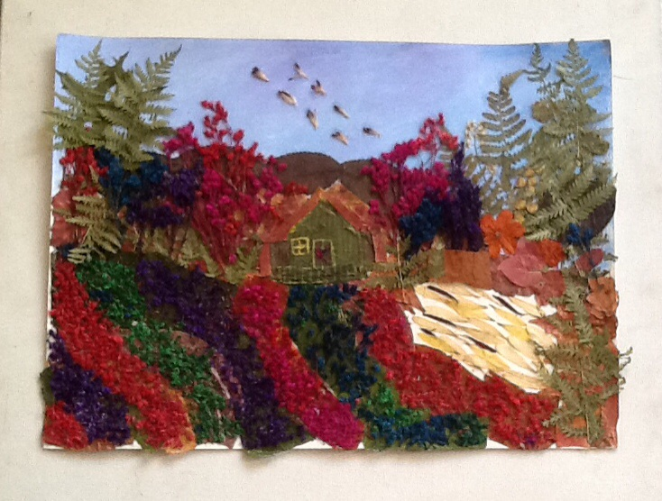 Leaf Art-Landscape (5/6)