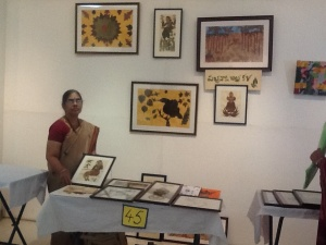 In Chitramela at State Art gallery