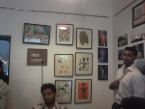 leaf art exhibition 2nd,3rd feb Lamakaan