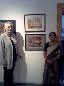 with Kathleen Paluch [Green leaf art center]