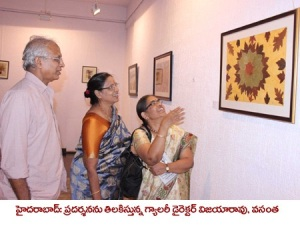 My solo art exhibition at Ailammaartgallery.