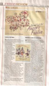book review in ''The Hindu